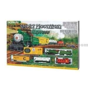 Bachmann HO Scale Smoky Mountain Express Train Set w/EZ