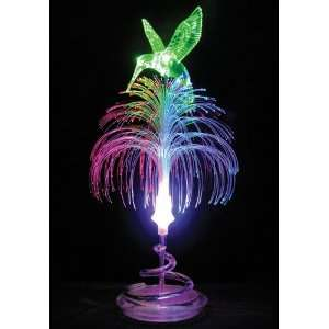LED Fiber Optic Table Lamp/Night Light   Hummingbird Home Improvement