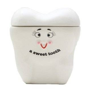 Sweet Tooth Ceramic Cookie Jar