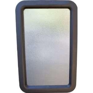 Power Products RV Door Window Glass Black Frame 12â? x 21â? 77051