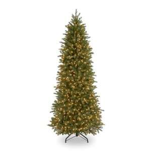 7 1/2 Poly Jersey Fraser Pencil Slim Fir Hinged Christmas