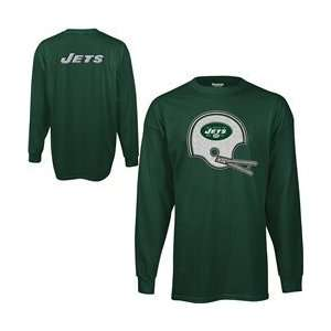 Jets Long Sleeve Ultimate Logo T Shirt   New York Jets Large Sports