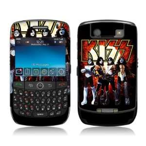 MS KISS10015 BlackBerry Curve  8900  KISS  Love Gun Skin Electronics