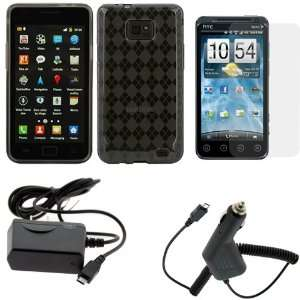 4pc Accessory Bundle Kit for Samsung Galaxy S2 4G (i9100)   Combo Set