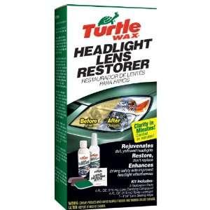 Turtle Wax T 240KT Headlight Lens Restorer Kit Automotive
