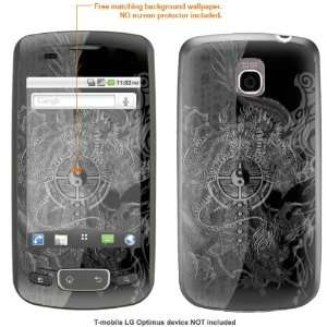 STICKER for T Mobile LG Optimus case cover Optimus 140 Electronics