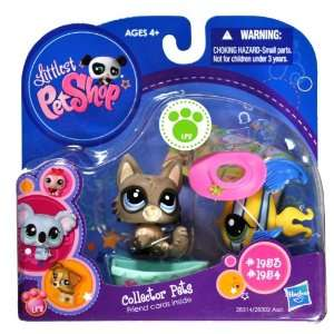 Year 2010 Littlest Pet Shop Collector Pets Series Bobble Head Pet