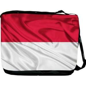 Rikki KnightTM Indonesia Flag Messenger Bag   Book Bag
