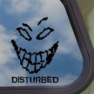 Disturbed Black Decal Metal Rock Band Truck Window Sticker
