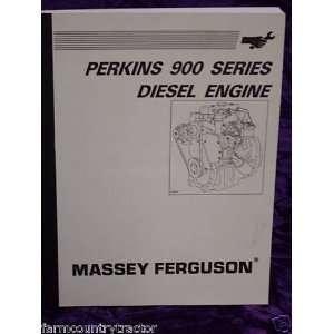 Massey Ferguson 900 Diesel Engine Massey Ferguson Books