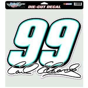 NASCAR Carl Edwards 12 by12 Die Cut Decal Sports