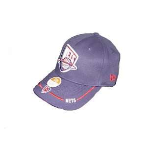 New Jersey Nets NBA ball cap hat   one size fit   cotton