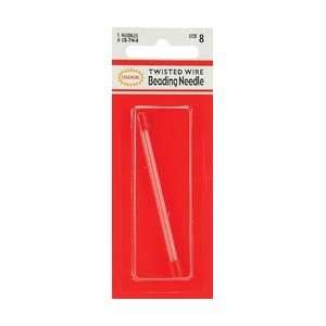 Colonial Needle Twisted Wire Beading Needles 5/Pkg Size 8