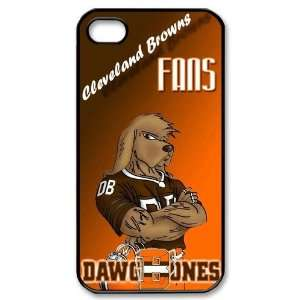 Designed iPhone 4/4s Hard Cases Browns team logo Cell