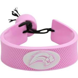 Buffalo Sabres NHL Pink Hockey Bracelet