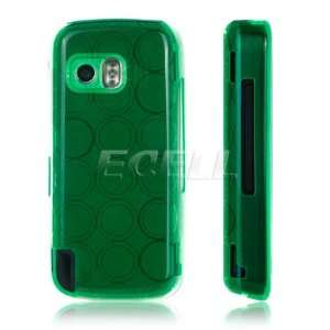 GREEN SILICONE RUBBER GEL SKIN CASE FOR NOKIA 5800 Electronics