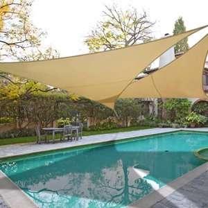 Sail 6 Degree Lower UV Shade Outdoor Garden Top Patio, Lawn & Garden