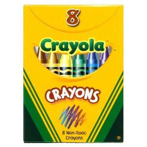 Crayola Classic Color Pack Crayons, 8 Colors/Box (52 3008