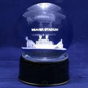 Penn State Nittany Lions Football Stadium 3D Laser Globe