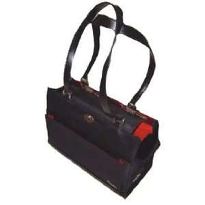 Tote Pet Carrier, Black Elegance  Size SMALL