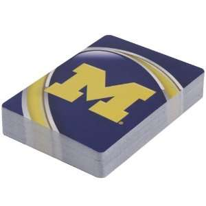 Michigan Wolverines Logo Playing Cards