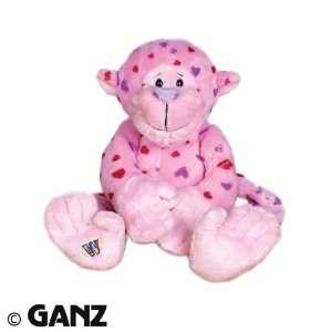 Webkinz Plush Stuffed Animal Love Monkey, valentine Toys & Games