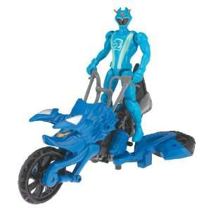 Power Ranger RPM Racing Performance Cycle with 5 Figure: Auxiliary