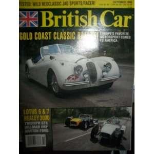 British Car Magazine October 1992 (Gold Coast Classic Rallye)