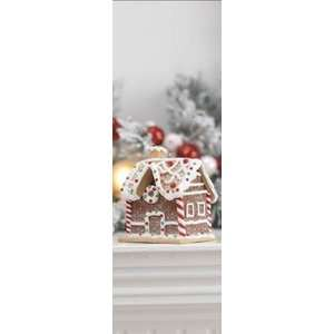Gingerbread Candy House Ornate Christmas Ornament:  Home