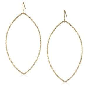 Sharelli Dazzles Medium Marquise Gold Plated Earrings