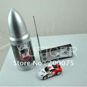 /silver bullet can mini radio remote control racing car Toys & Games