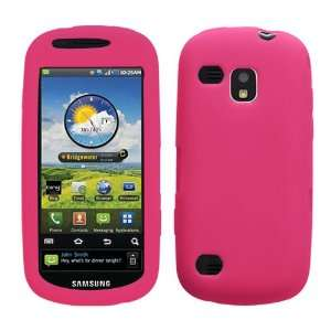 Solid Skin Cover (Hot Pink) for SAMSUNG i400 (Continuum
