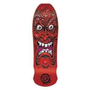SANTA CRUZ Skateboard ROB ROSKOPP FACE RED Re Issue Old School Deck