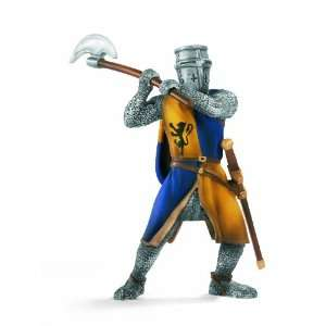 Schleich Knight: Foot Soldier with Battle Axe: Toys