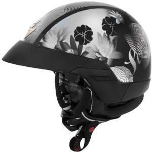 SCORPION EXO 100 LILLY MOTORCYCLE HELMET black Sports