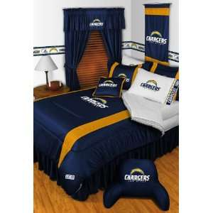 San Diego Chargers Sidelines Comforter & Sheet Complete Bedding Set