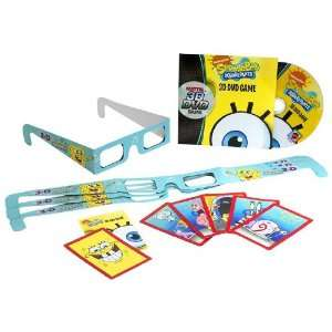 Nickelodeon SpongeBob Squarepants 3D DVD Game  Toys & Games