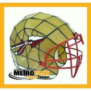 Florida St Seminoles Stained Glass Football Helmet Lamp