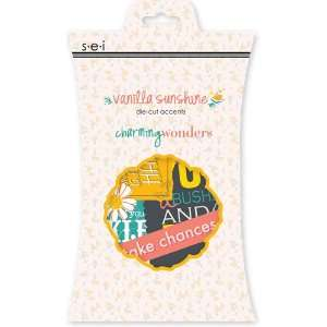 Vanilla Sunshine Collection   Die Cut Accents: Arts, Crafts & Sewing