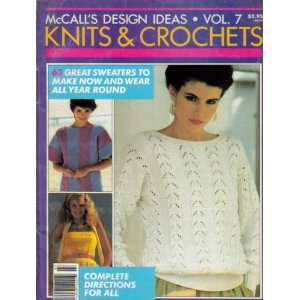 McCalls Design Ideas (Knits & Crochets, 63 Great Sweaters