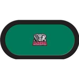 Alabama Crimson Tide Game Table Felt   48 x 96 Texas