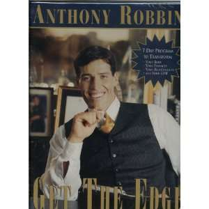 Anthony Robbins Get The Edge! 10 Audio CDs   7 Day Program