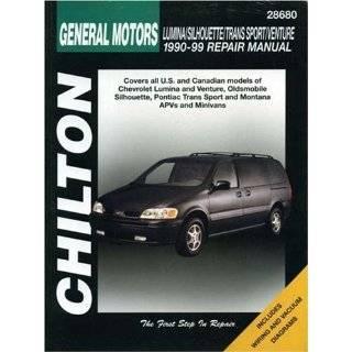 General Motors Chevrolet Lumina Apv Oldsmobile Silhouette