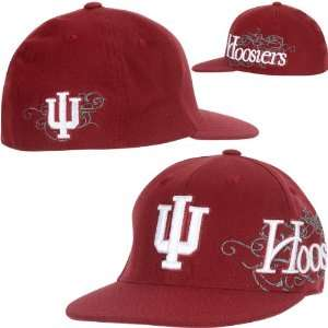 Top Of The World Indiana Hoosiers Brigade Team Color Hat One Size Fits