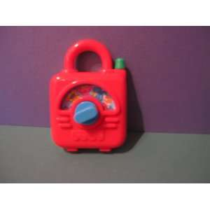 MCDONALD HAPPY MEAL TOY UNDER 3 FISHER PRICE STORY DIAL