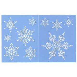 SNOWFLAKE STENCIL Snazaroo Face Painting Stencil Toys & Games