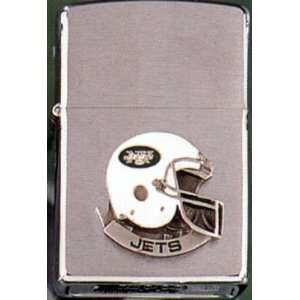 Jets Team Helmet Emblem Zippo Lighter