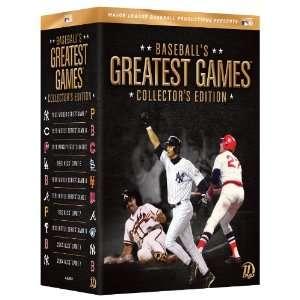 Baseballs Greatest Games Major League Baseball Movies