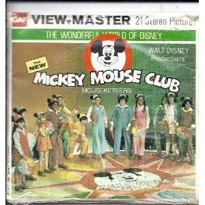 com The New Mickey Mouse Club View Master 3D 3 Reel Set Toys & Games