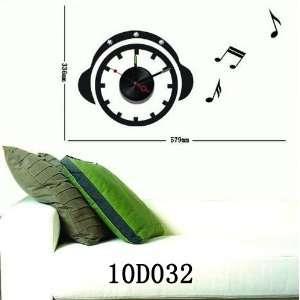 Best Quality Vinyl Wall Sticker Clock    No. D032